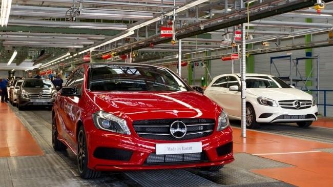 Daimler планирует построить завод в Санкт-Петербурге