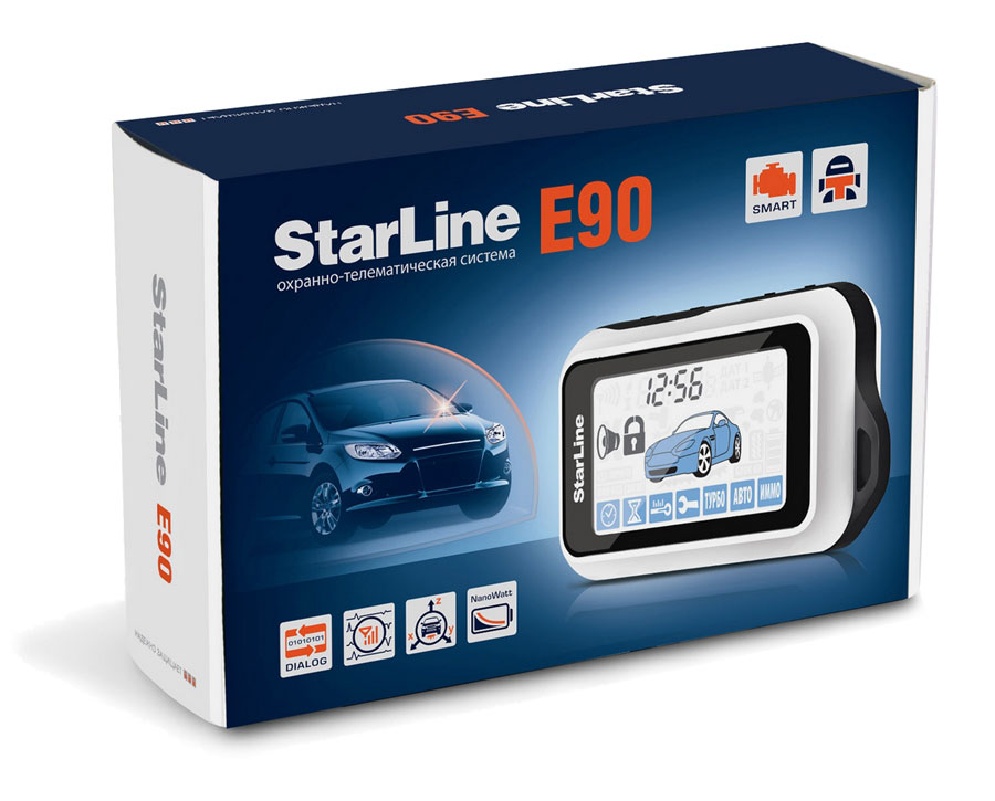 Автосигналиция StarLine90