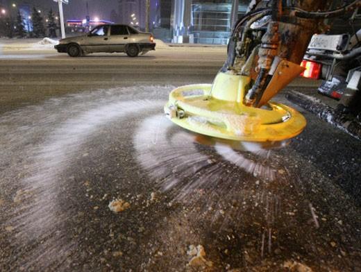 Количество технической соли планируют сократить