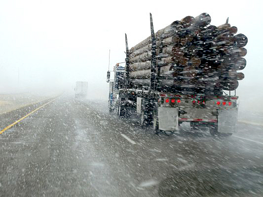 Зима на дорогах