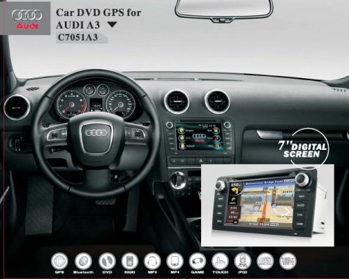 Штатные головные устройства для Audi