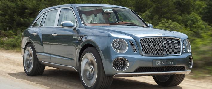 Bentley будет выпускать бронированные машины
