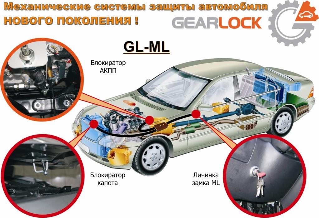 Электромеханический замок GearLock