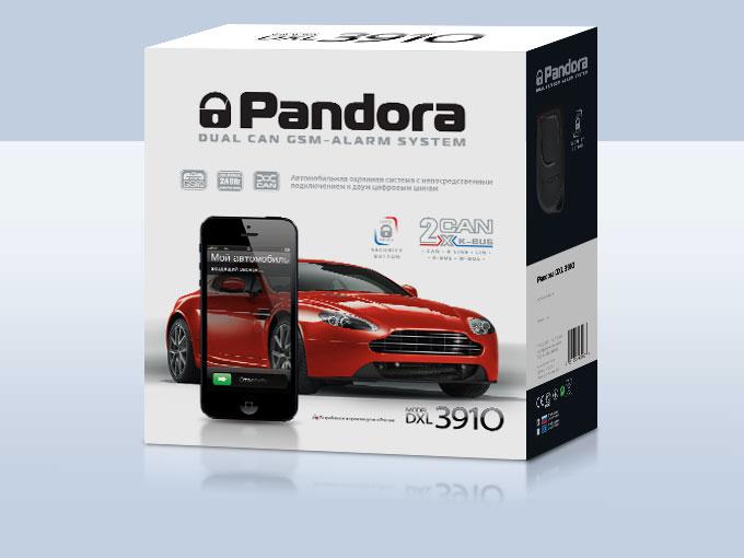 Автосигнализация Pandora 3910