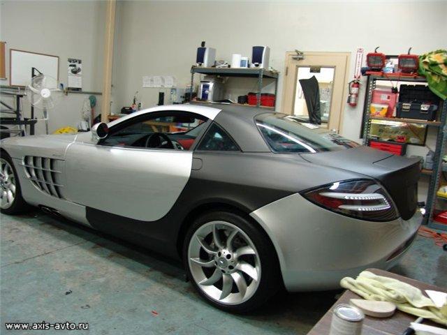 Бронирование наружных поверхностей автомобиля с помощью пленок