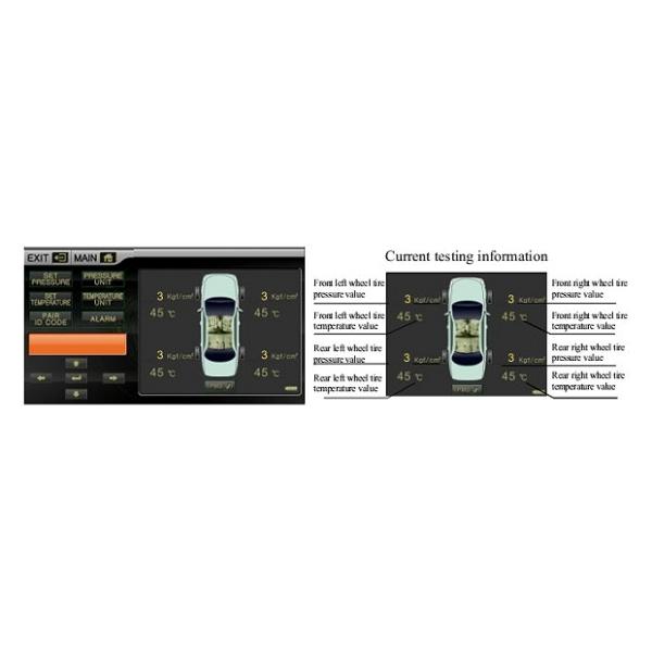 Система контроля давления и температуры