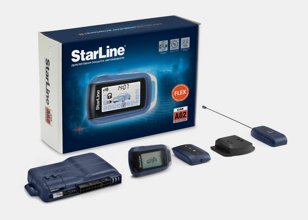 STAR LINE A62 Dialog CAN