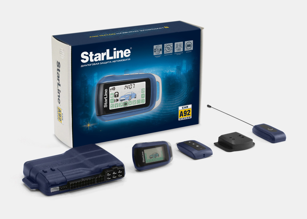 STARLINE  A92 CAN Dialog