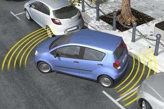 Парктроники Bosch излучает ультразвуковые волны