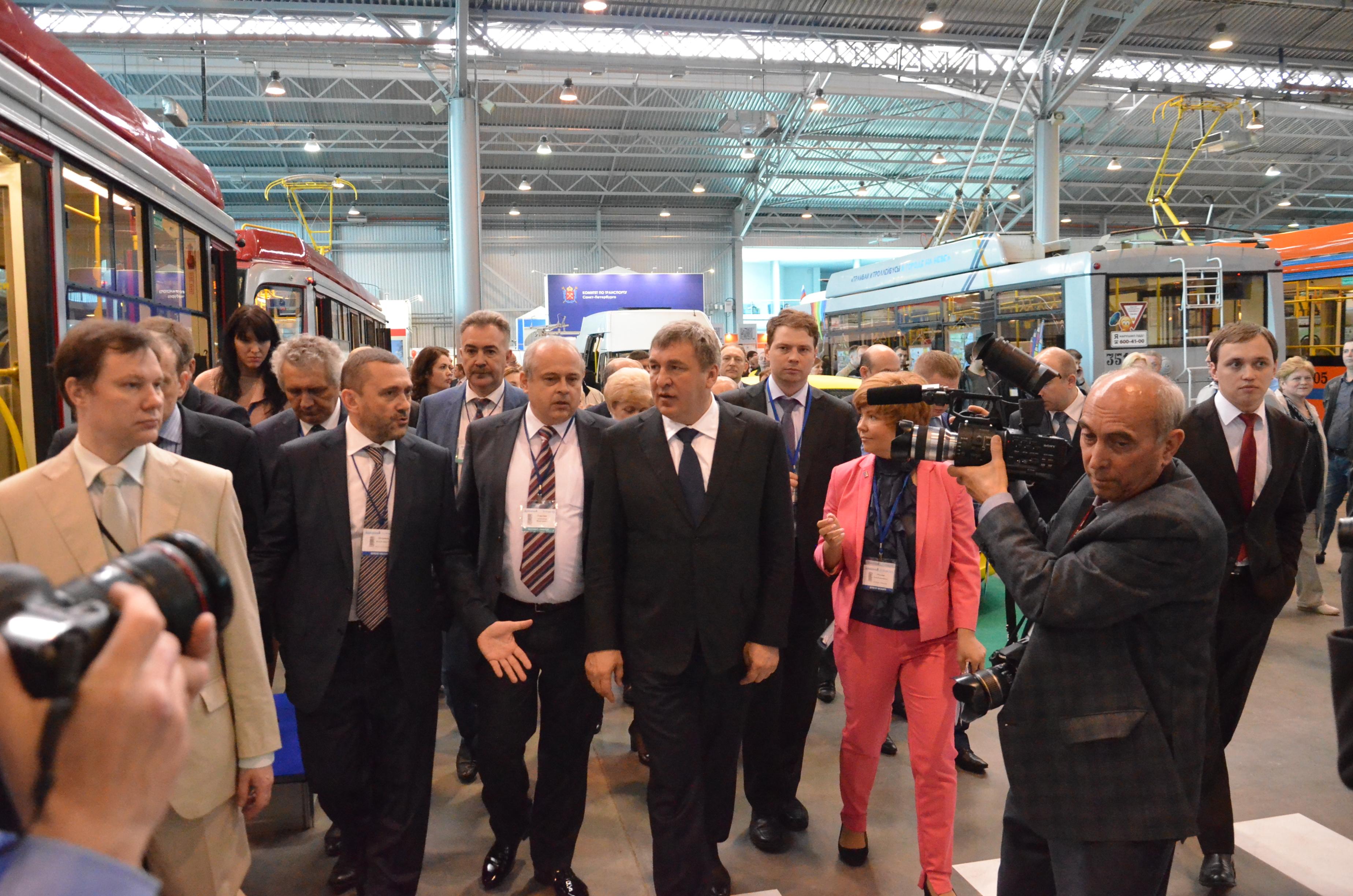 Международный инновационнй форум пассажирского транспорта в СПБ