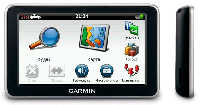 Автонавигатор Garmin Nuvi
