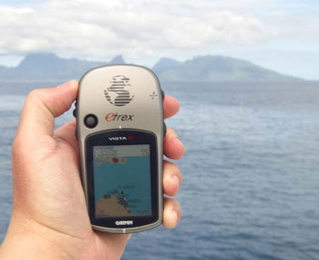 Навигатор Garmin для туризма