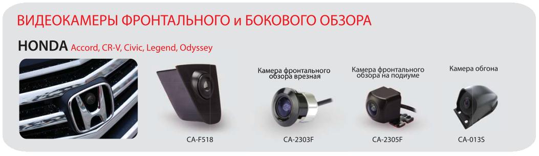 Подборка камер для автомобиля Honda
