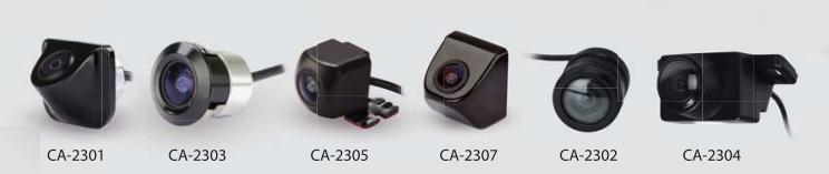 Комплект камер заднего вида