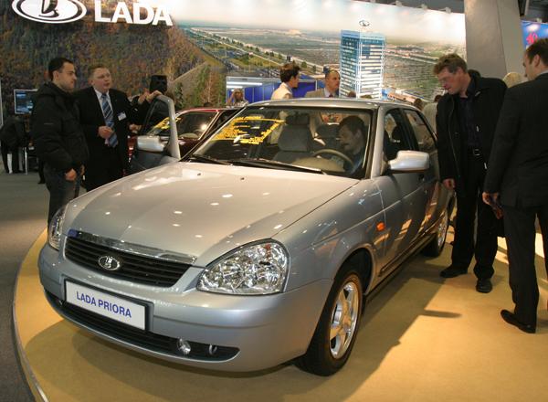 LADA PRIORA вошла в десятку самых продаваемых