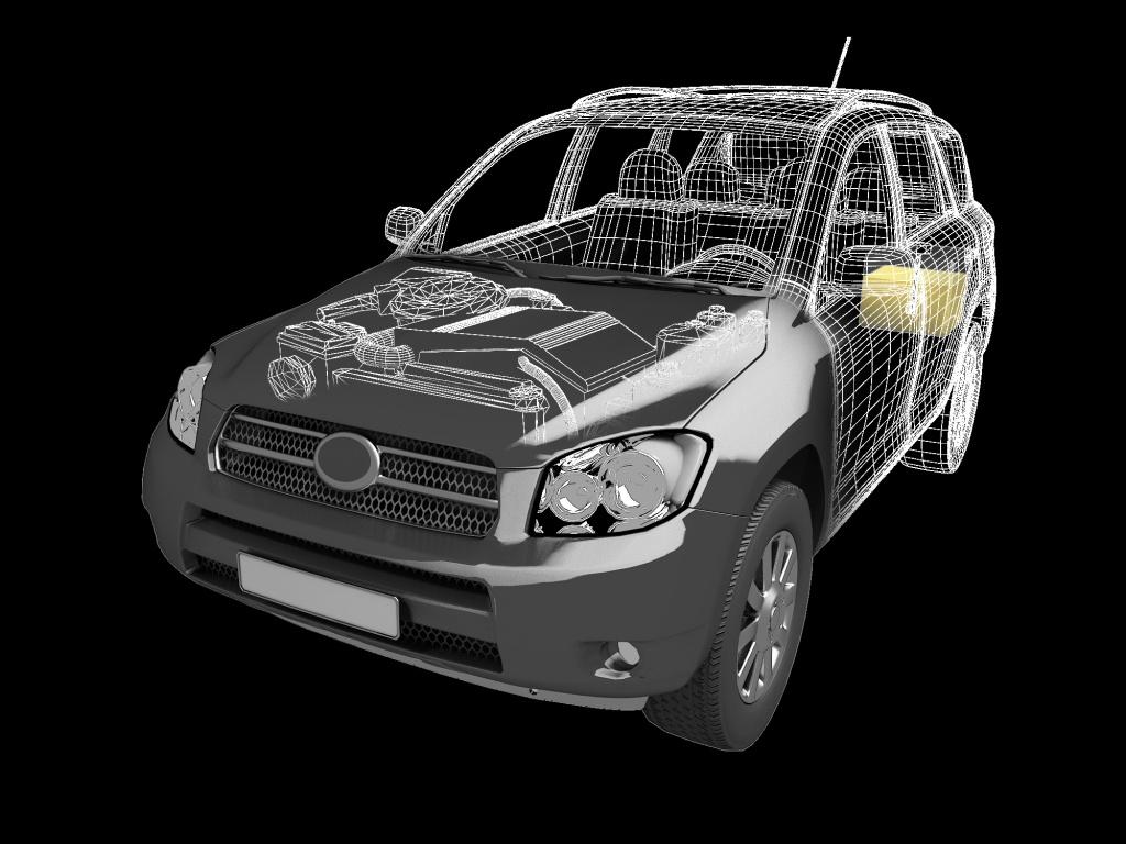 трекер-закладка Бумеранг в авто