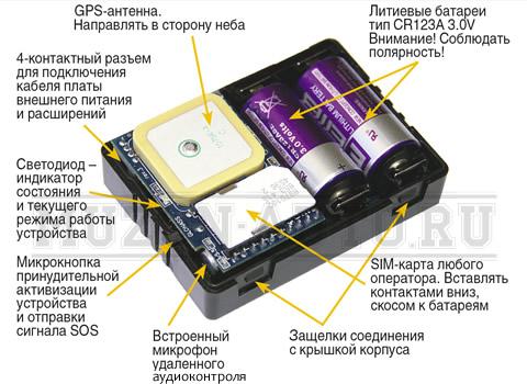 внутреннее устройство Автофон
