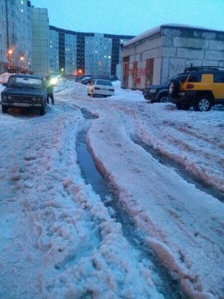 Депутаты призывают фотографировать снег