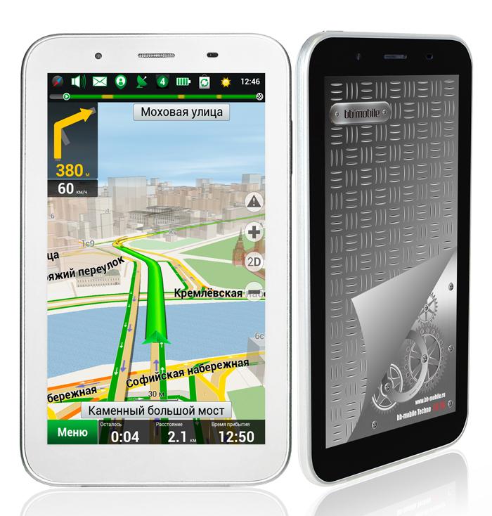 Планшет-навигатор-смартон bb-mobile Techno 7.0 3G