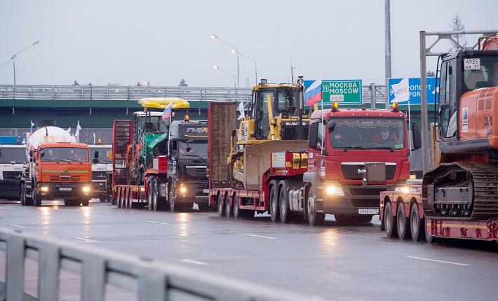 На стоимость проезда по трассе «Москва-Петербург» будет влиять высота автомобиля