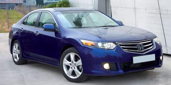 Honda Accord с защищенным картером