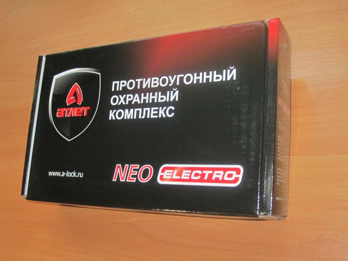 МПУ КАПОТ АТЛЕТ NEO электро