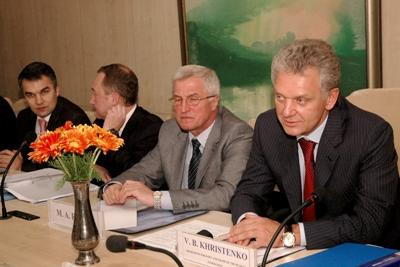 Министр промышленности и торговли Российской Федерации В.Б. Христенко