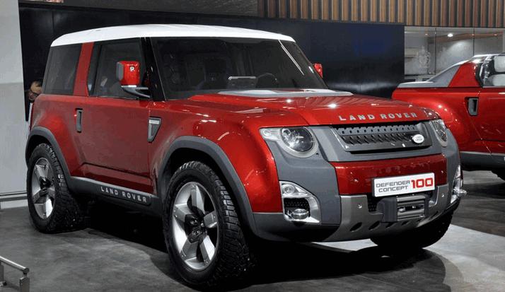 Land Rover Defender выйдет в 2016 году