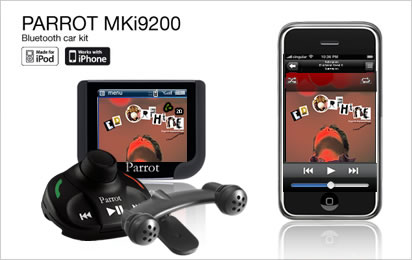 Чистота звука и качество изображения Parrot MKi9200