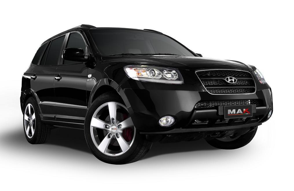 Штатные головные устройства для Hyundai Santa Fe