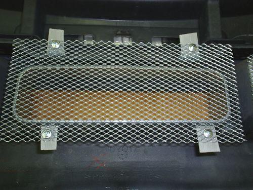Сетка защита радиатора своими руками
