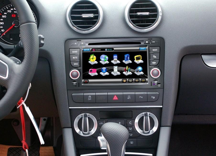 Головное устройство для Audi A3