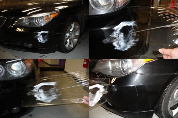 Защита поверхностей автомобилей с помощью специальных пленок