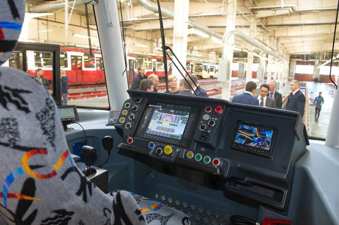 Московские трамваи оснащают электроникой